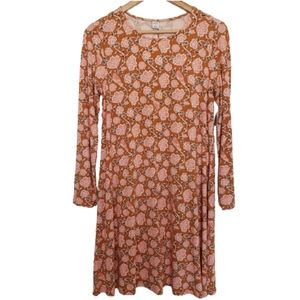 Dresses & Skirts - 4 for $25 nwt floral bird swing dress